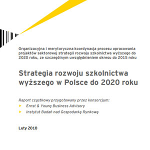 """Marek Kwiek – one of principal authors of a new """"Strategy for Polish Higher Education until 2020"""", Ernst and Young and IBNGR"""