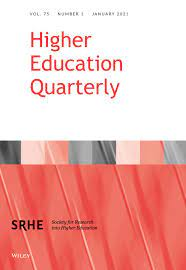 """Marek Kwiek to serve in the Editorial Board of """"Higher Education Quarterly"""" for 2021-2025. Continuously in the Board since 2005!"""